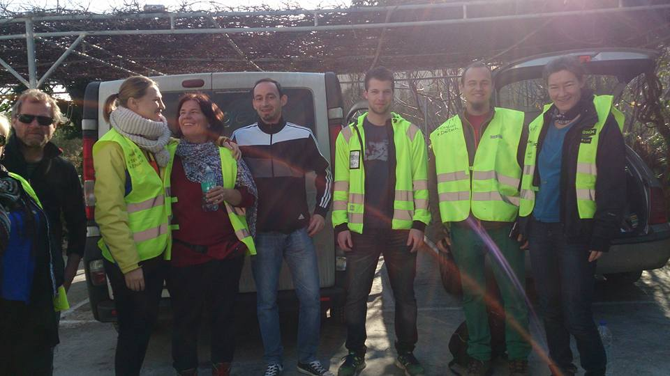 Lesbos, Getting acquainted mit dem organisierten Chaos – Graz ...