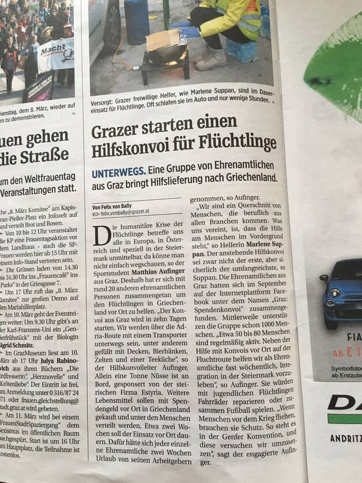Zeitung_Spendenkonvoi