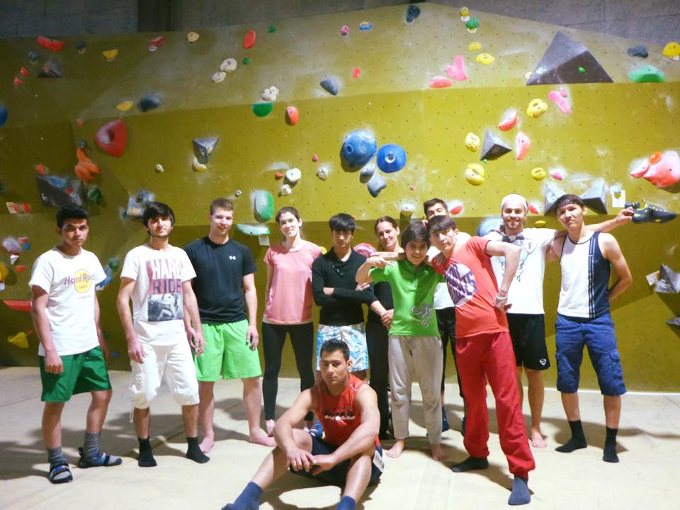 Integration durch Sport – Bouldersession @ Bloc House